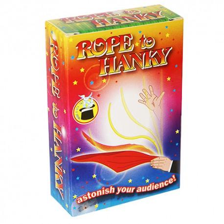 De cuerda a pañuelo (rope to hanky)