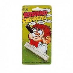 Cigarrillo petrificado (petrified cigarette)