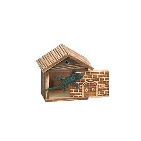 Casa de madera sorpresa - Lagarto (shock house)