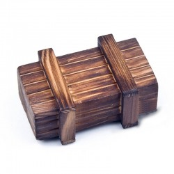 Caja del tesoro - de madera (wooden treasure box)