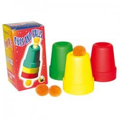 Cubiletes de plástico (cups & balls)