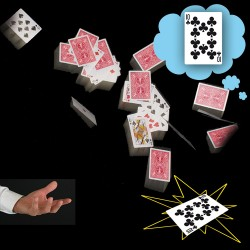 Cartas en el aire (cards in the air)