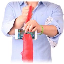 Pañuelo a través del teléfono (silk thru phone)