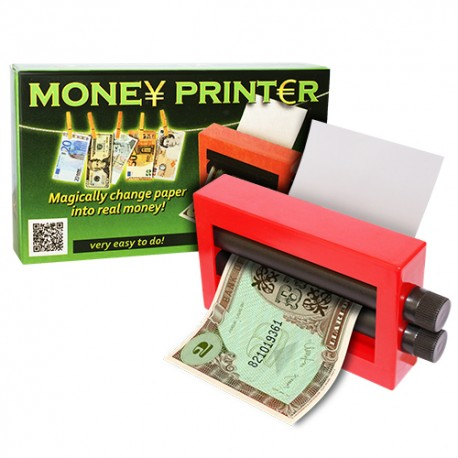 Impresora de billetes (money printer)