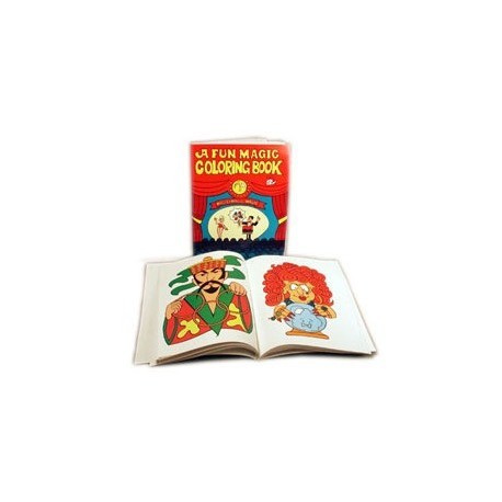 Libro mágico para colorear (magic coloring book)