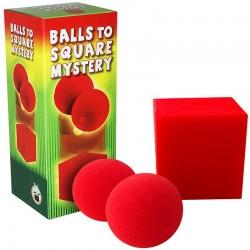 De bolas a cubo gigante (balls to square mystery)