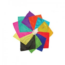 Pañuelos de seda 15 x 15 (silks)