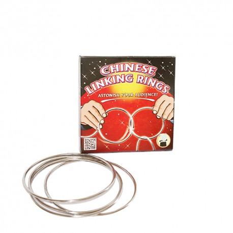 Aros chinos + DVD (chinese linking rings)