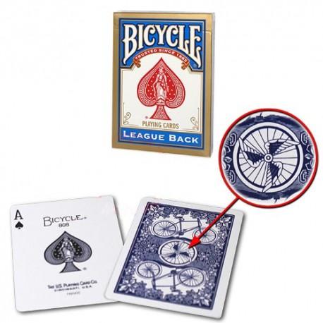 Baraja Bicycle Asimétrica (League Back)