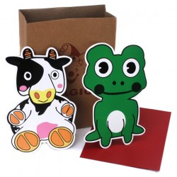 La vaca y la rana (cow and frog)