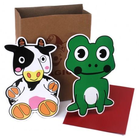 La vaca y la rana (cow and frog)