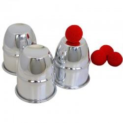 Cubiletes de aluminio (cups & balls aluminum)