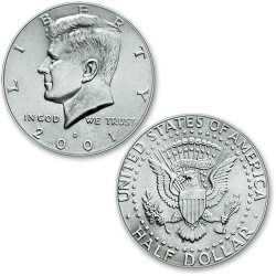 Monedas de medio dólar - Kennedy (half dollar)