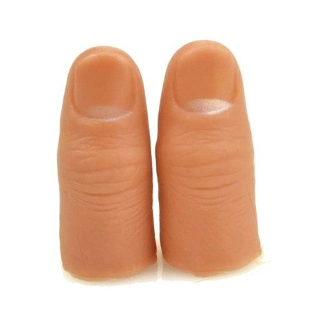 FP de goma dura 5,7x2,2 cm. (thumb tip VDF)