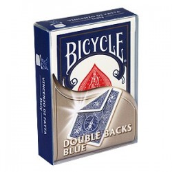 Baraja Bicycle doble dorso azul/azul (double back blue/blue)