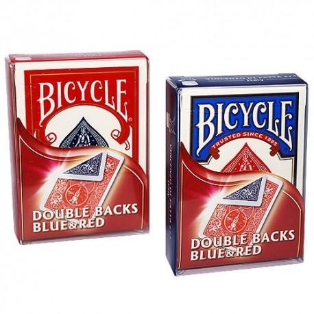 Baraja Bicycle doble dorso rojo/azul (double back red/blue)