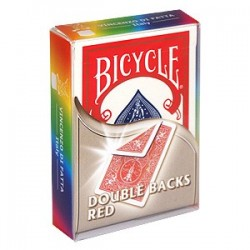 Baraja Bicycle doble dorso rojo/rojo (double back red/red)