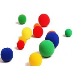 """Bolas esponja de 3,5 cm. / 1,4"""" (sponge balls)"""