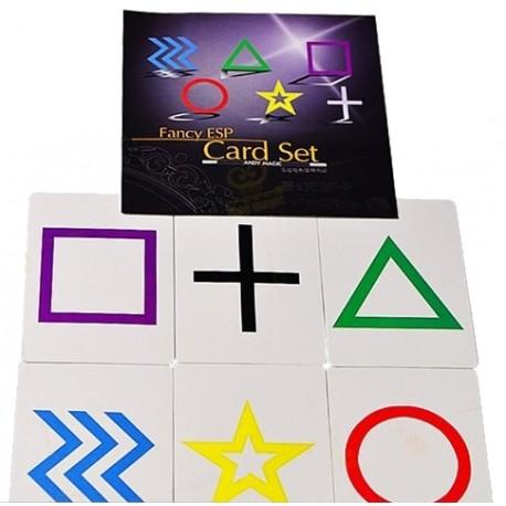 Magic cartas ESP (fancy ESP card)