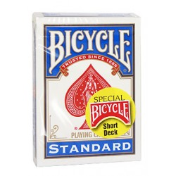 Baraja Bicycle cartas cortas (short deck)