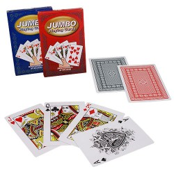 Baraja de cartas jumbo / tamaño grande (jumbo playing cards)