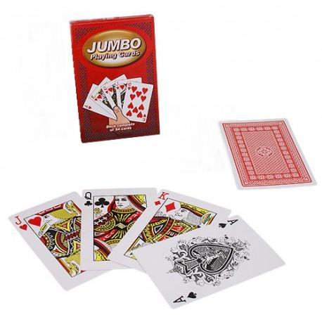 Baraja de cartas jumbo / tamaño grande (jumbo playing cards)