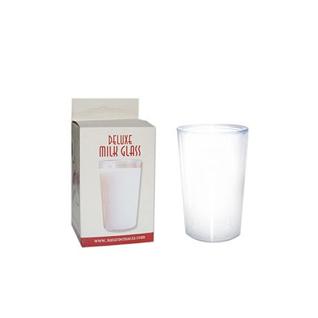 Vaso de leche deluxe (deluxe milk glass)