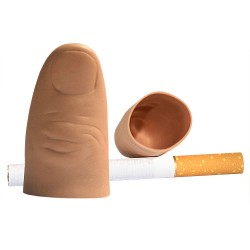 Falso pulgar de goma blanda 4,6x2,1 cm. (thumb tip VDF - soft)